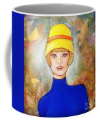 Lady In A Yellow Hat Coffee Mug