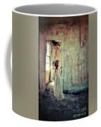 Lady In An Old Abandoned House Coffee Mug by Jill Battaglia