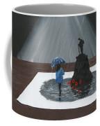 Lady In Blue 3d Coffee Mug