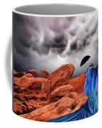 Lady In Blue Nevada Coffee Mug