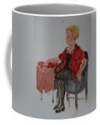 Lady In Chair Coffee Mug