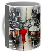 Lady In Paris Coffee Mug