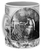 Lady Liberty Mourns During The Civil War Coffee Mug