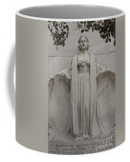 Lady Liberty On Alamo Monument Coffee Mug