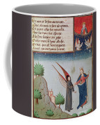 Lady Philosophy Leads Boethius In Flight Into The Sky On The Wings That She Has Given Him Coffee Mug