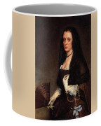 Lady With A Fan Diego Rodriguez De Silva Y Velazquez Coffee Mug