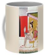 Lady With A Hawk Coffee Mug