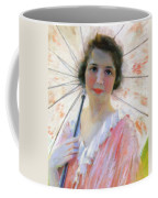 Lady With A Parasol 1921 Coffee Mug