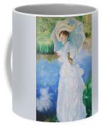 Lady With A Parasole  Coffee Mug