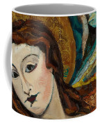 Lady With Bird Coffee Mug