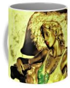 Lady With Hat Coffee Mug