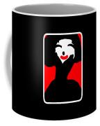 Lady With The Red Lips Coffee Mug