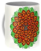 Ladybug Design Coffee Mug