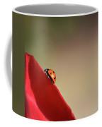 Ladybug On A Rose  Coffee Mug