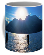 Lago Di Garda At Sunset View Coffee Mug