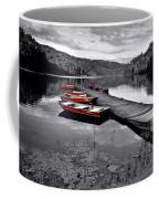 Lake And Boats Coffee Mug