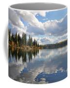 Lake And Clouds Coffee Mug