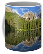 Lake Antorno Coffee Mug by Yair Karelic