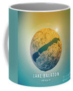 Lake Balaton 3d Little Planet 360-degree Sphere Panorama Coffee Mug