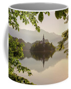 Lake Bled In The Morning Coffee Mug