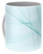 Lake Computer Graphic Line Pattern Coffee Mug
