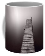 Lake Dock In Michigan Coffee Mug