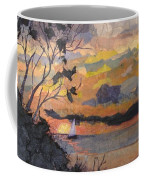 Lake Erie Sunset Coffee Mug