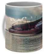 Lake Freighter - Honorable James L Oberstar Coffee Mug