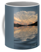 Lake Front Sunset Coffee Mug