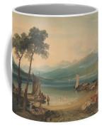 Lake Geneva And Mount Blanc Coffee Mug