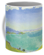 Lake Geneva From The Caux Coffee Mug