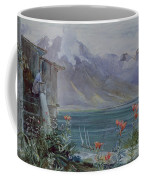 Lake Geneva Coffee Mug by John William Inchbold