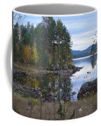 Lake Gustav Adolf Sweden Coffee Mug