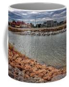 Lake Hefner Dock Coffee Mug