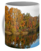 Lake Helene And Fall Foliage Coffee Mug
