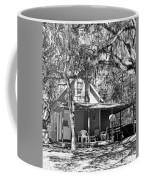 Lake House Black And White Coffee Mug