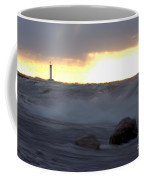 Lake Huron Arctic  Blast Coffee Mug
