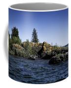 Lake Huron Shoreline Cedarville Michigan Coffee Mug