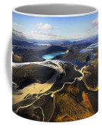 Lake In An Old Volcanic Crater Or Coffee Mug
