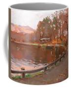 Lake In Bear Mountin Coffee Mug