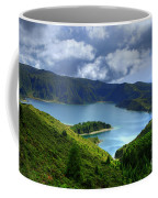 Lake In The Azores Coffee Mug