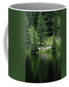Lake Irene Dressed In Green Coffee Mug