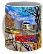 Lake Kittamaqundi Walkway Coffee Mug by Stephen Younts