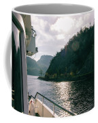 Lake Lucerne From A Boat  Coffee Mug