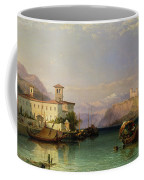 Lake Maggiore Coffee Mug by George Edwards Hering