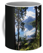 Lake Mcdlonald Through The Trees Glacier National Park Coffee Mug