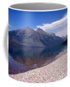 Lake Mcdonald Reflection Glacier National Park 4 Coffee Mug