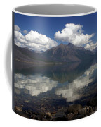 Lake Mcdonald Reflection Glacier National Park Coffee Mug