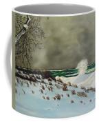 Lake Michigan In The Winter Coffee Mug