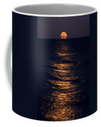 Lake Michigan Moonrise Coffee Mug